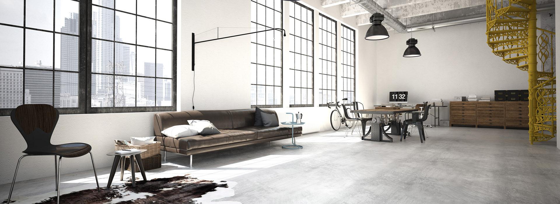 Podłogi mikrocementowe od SatineStone